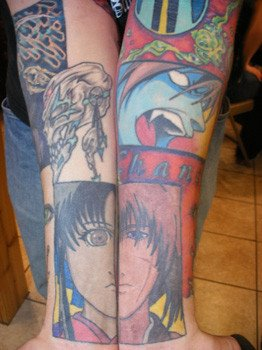Manga Tattoos Part II