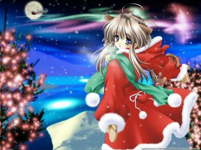 Random Pictures collection Christmas_anime-748068