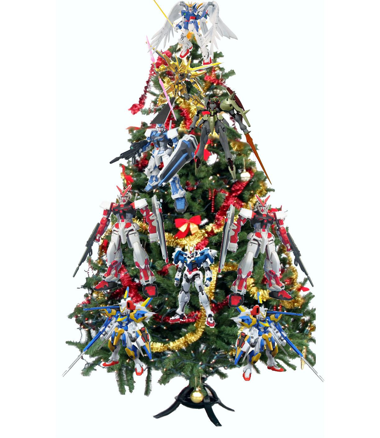���� ��������� 2013-��� ����� 2013 gundam_christmas_tree-752167.jpg
