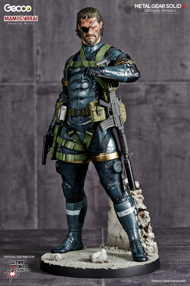 METAL GEAR SOLID V GROUND ZEROES: SNAKE 1/6 Scale PVC Statue