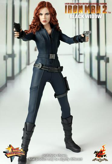 Iron Man 2 - 1/6th scale Black Widow Limited Edition Collectible