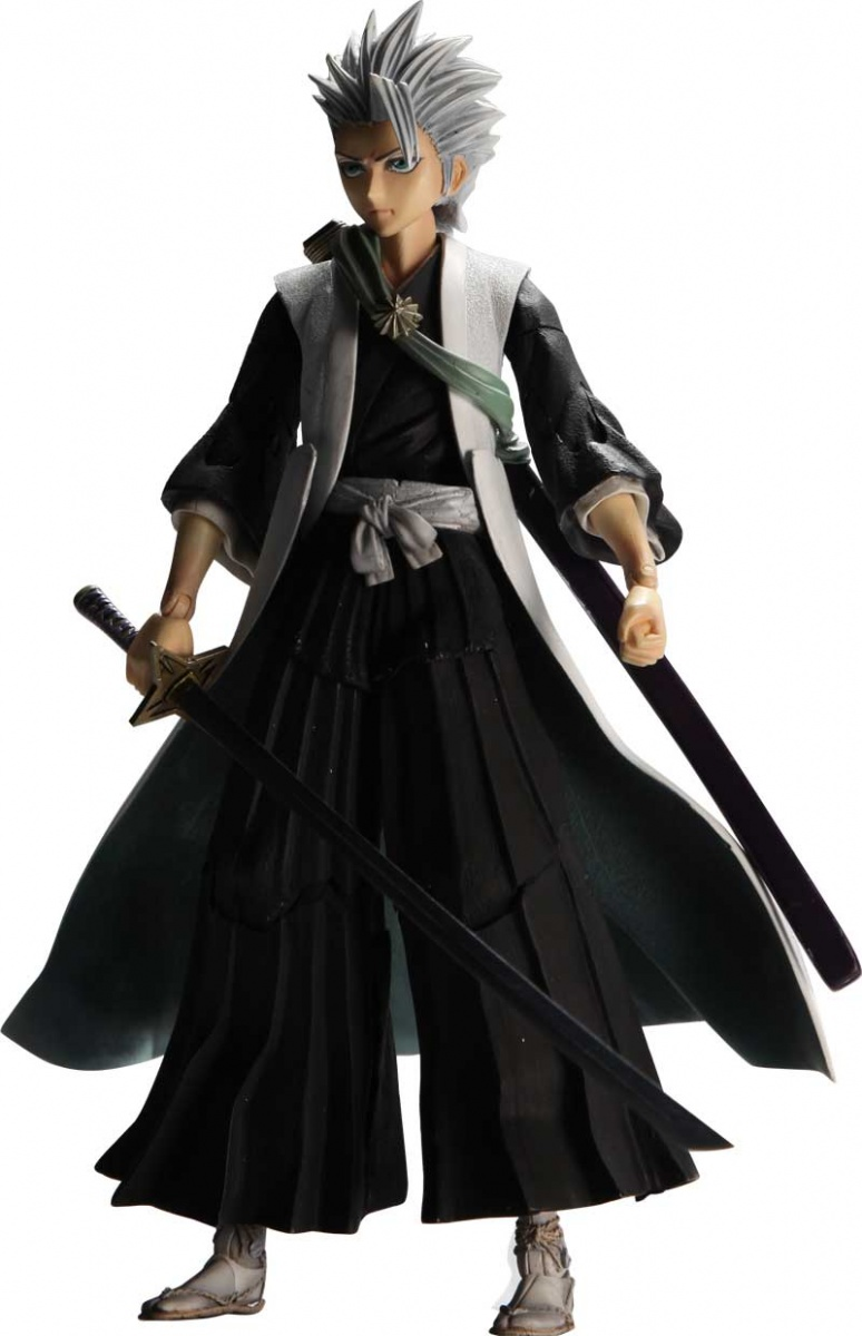 Bleach: Toshiro Hitsugaya Play Arts Kai Action Figure