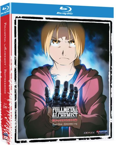 Full Metal Alchemist Brotherhood: Part 1 (Blu-Ray)