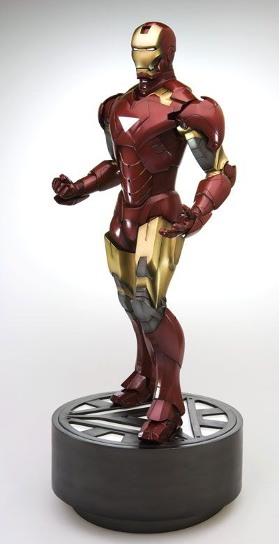 Iron Man Movie 2: Mark VI Fine Art Statue