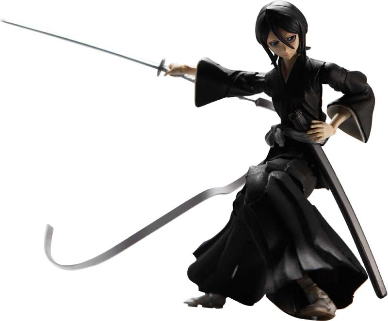 Bleach: Rukia Kuchiki Play Arts Kai Action Figure